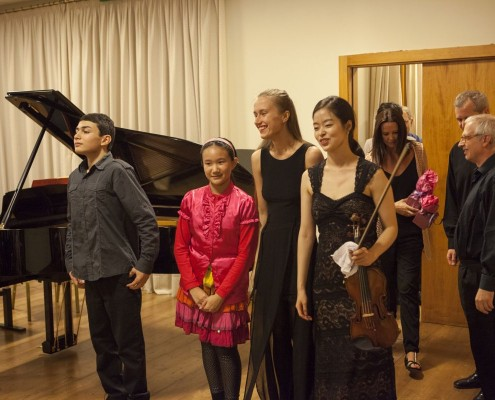 belen alonso students concert master classes 2014