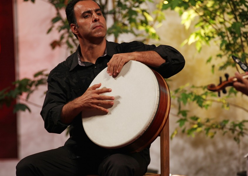 """In a free spirit""Erez Monk, percussion"