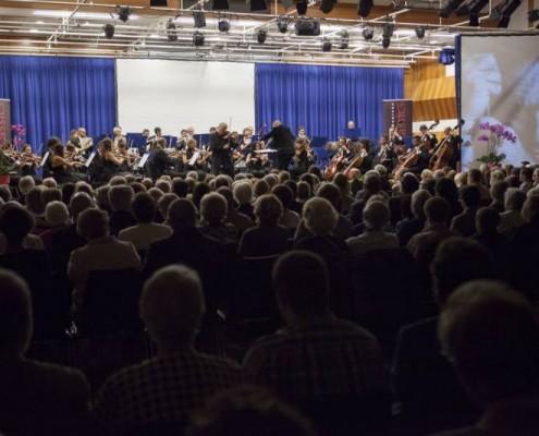 crans montana opening concert