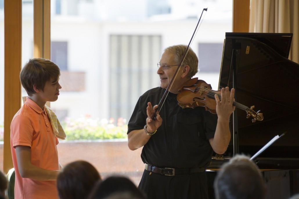 Master class with Shlomo Mintz