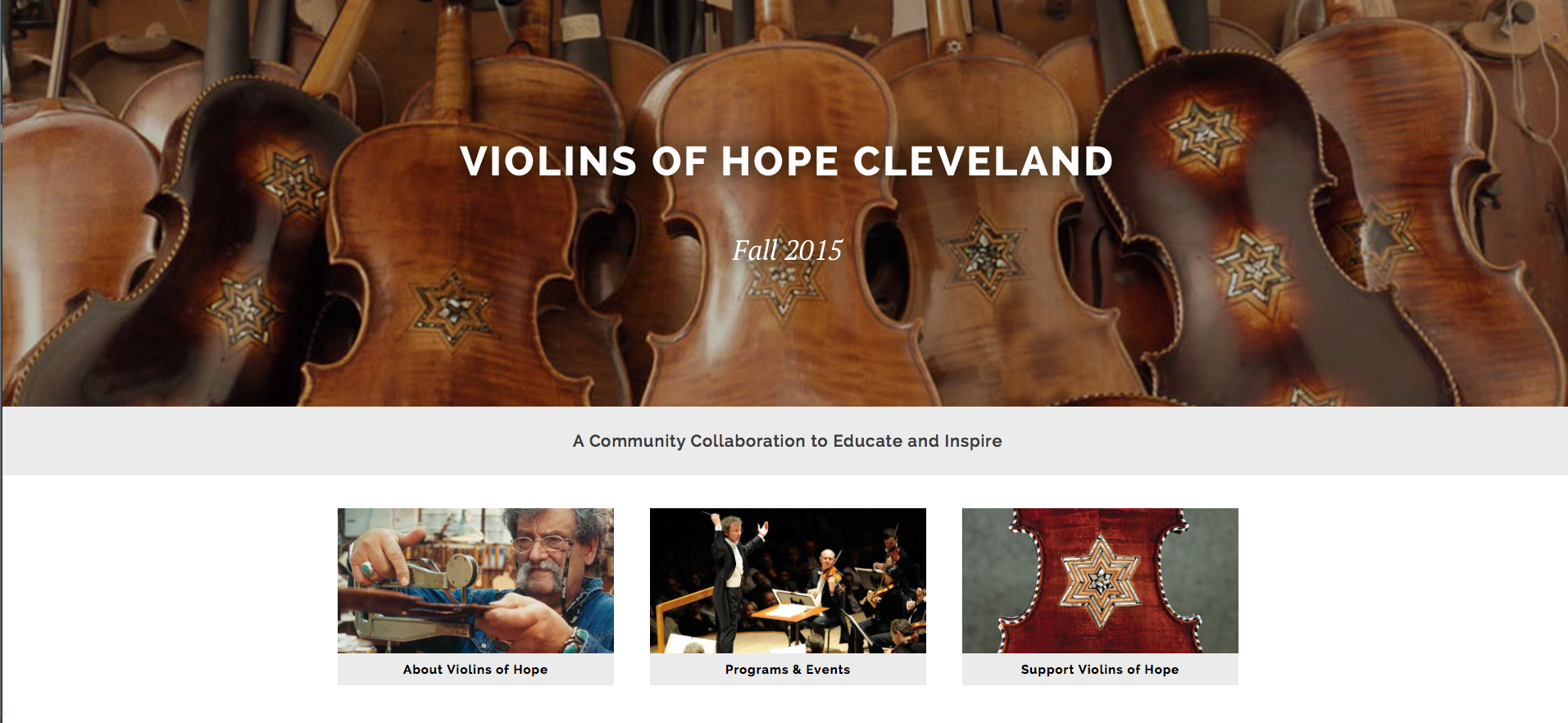 violins of hope cleveland
