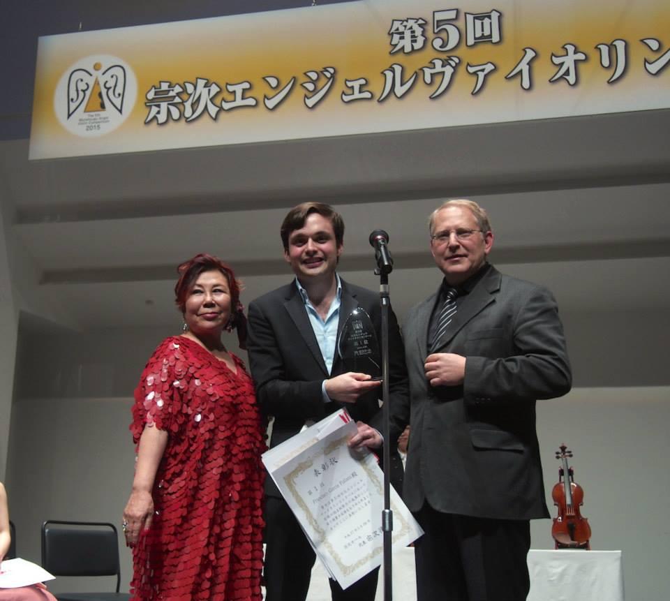 francisco fullana Munetsugu Violin Competition Japan