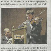 Critica_ULTIMA_HORA_Francisco_Fullana_ Sibelius_violin_Conc