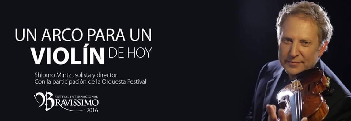 Shlomo Mintz Guatemala Bravissimo Festival 2016