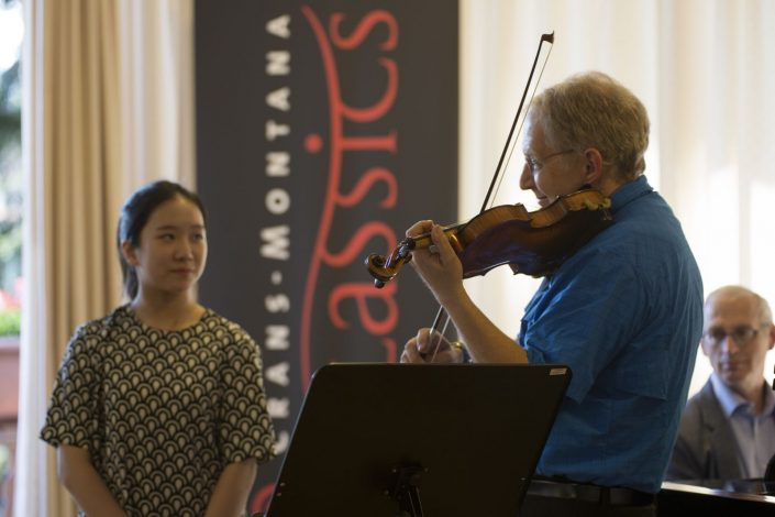 shlomo mintz teaches in Crans-Montana