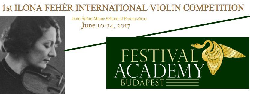 ilona feher violin competition