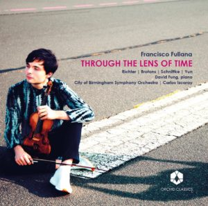 cd cover francisco fullana through the lens