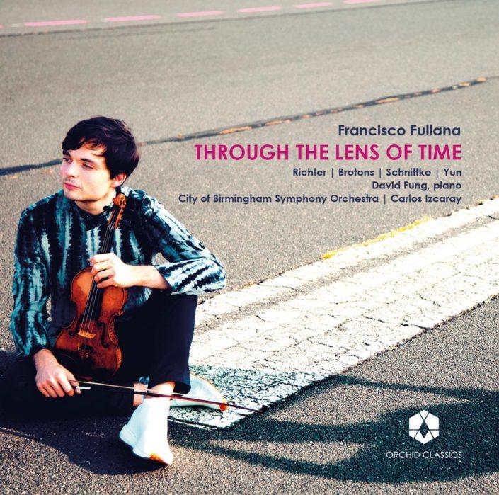 cd cover francisco fullana through the lens