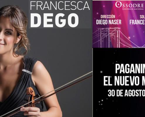 FRANCESCA DEGO, violinist