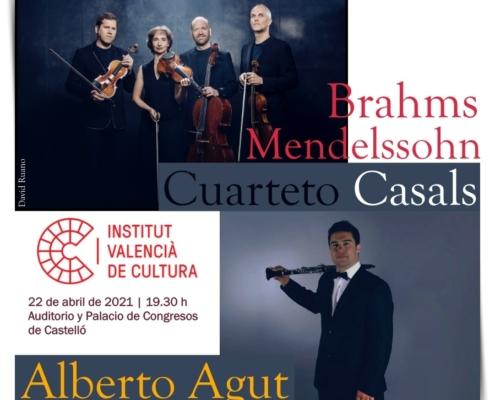 Alberto Agut Cuarteto Casals